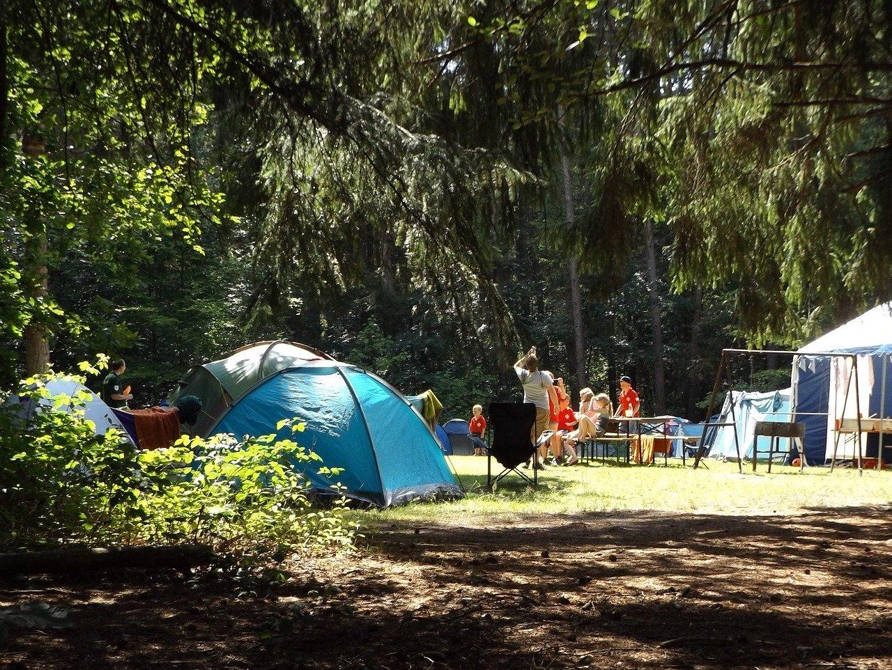 Découverte en camping.