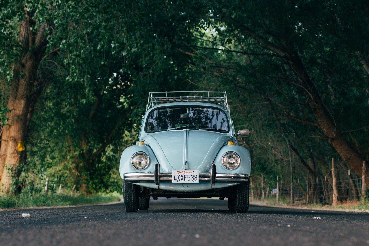 Voyage en voiture pour profiter de la vue et de la nature.